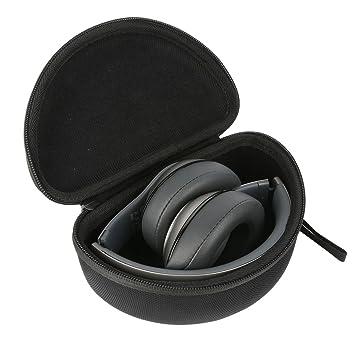 Khanka Duro EVA Viaje Estuche Bolso Funda Case para Beats by Dr. Dre Solo2 Auriculares De Diadema / Studio 2.0 Auriculares de diadema cerrados: Amazon.es: ...
