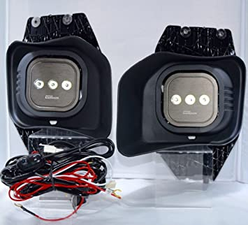 Amazon.com: MBAUTO complete 40W High Power LED Fog Lights with ... on f250 hood, f250 wheels, f250 bumpers, f250 engine harness,