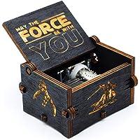 Caja de música de Star Wars de madera
