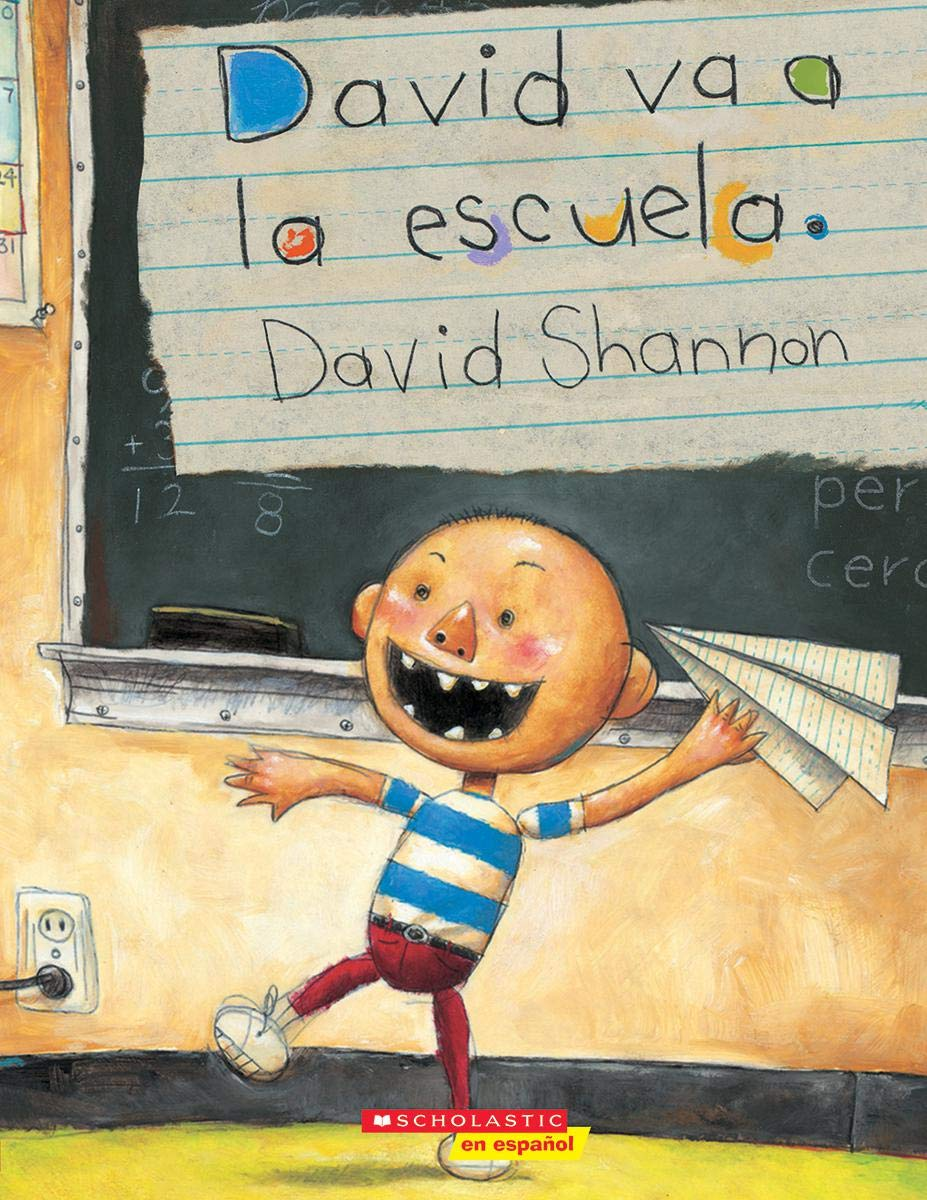 David Va a la Escuela (David Goes to School) (David Books)