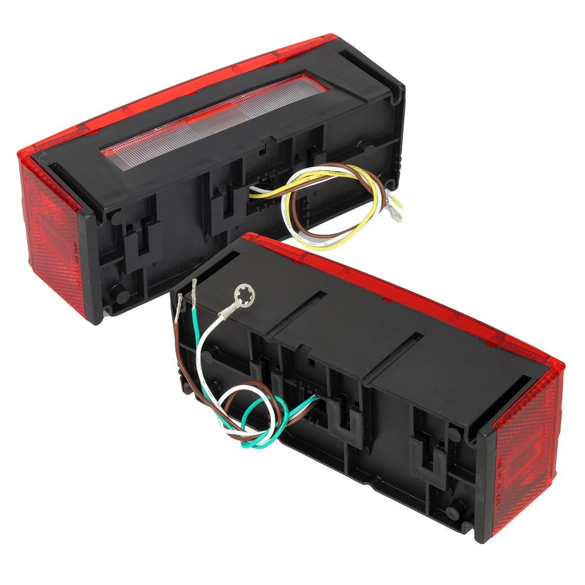 Led Over 80 Wide Trailer Light Kit Submersible Tail And Identificaton Wiring Harness Kits License Stop Turn Brake W Wire