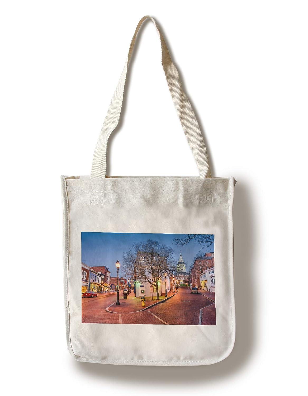 最新入荷 アナポリス メリーランド州アナポリス A-90945 Canvas Canvas Tote Bag Bag Tote LANT-90945-TT B07KJN2J9L Canvas Tote Bag, 靴チヨダ:d0b7710a --- arianechie.dominiotemporario.com
