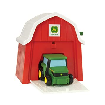 Ertl John Deere Tractor In The Barn