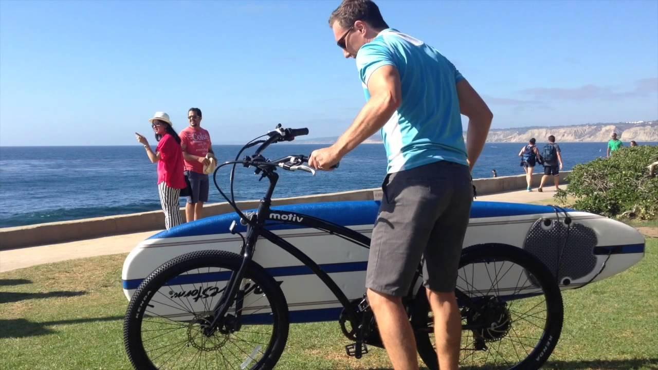 Unheard Racks CSS Side Mount Bike Rack for Surfboards by Unheard Racks