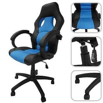Todeco Siège De Bureau Chaise Pour Gaming Dimensions 115 X 65