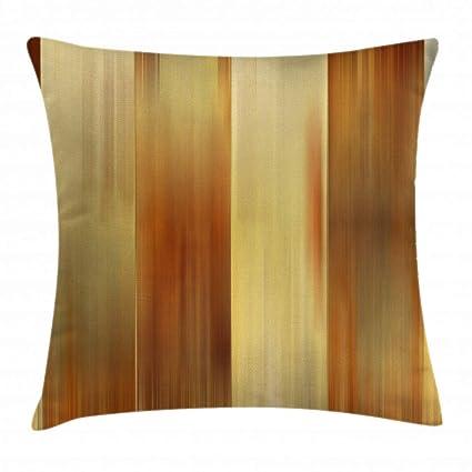 Earth Tone Throw Pillows.Amazon Com Ambesonne Earth Tones Throw Pillow Cushion Cover