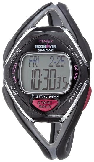 Timex Ironman Triathlon Race Trainer - Reloj de mujer de cuarzo, correa de goma color