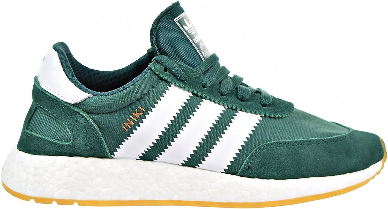 Adidas Iniki Runner Men s Shoes Collegiate Green White by9726