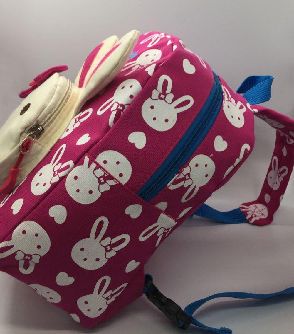 24d92101ee Flyingsky Bear Animals Kids Book Backpack Baby Girls School Bag (Grass  green)