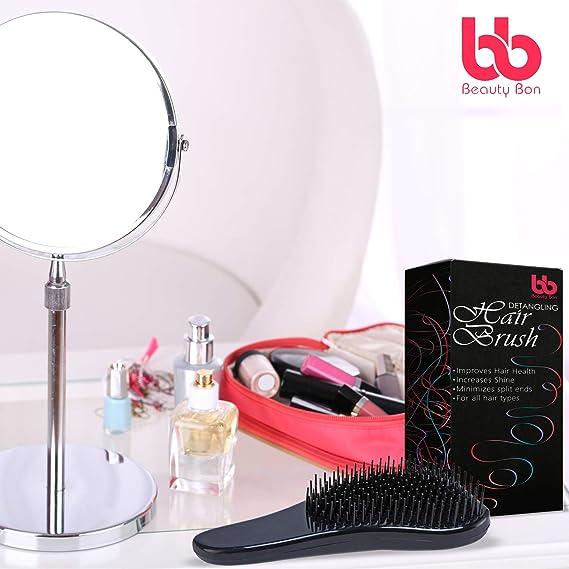 Detangling Hair Brush, Best Detangler Comb for Women, Men & Children, Black By Beauty Bon by Beauty Bon