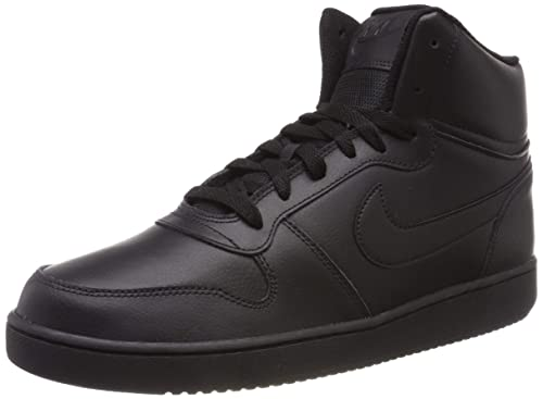 online store a80f0 f1ac6 Nike Mens Ebernon Mid Basketball Shoes Black 004, 6.5 UK