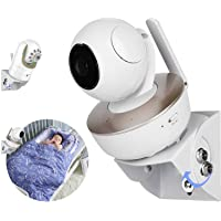 Universal Adjustable Angle Wall Mount Shelf for Baby Monitor Camera, Angle Mounting Brackets, Fits Arlo, Motorola…