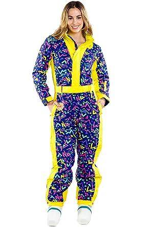 Women s Zero Chill Neon Purple Ski Suit - Cute and Stylish Retro Ski Suit  S 81667eef8