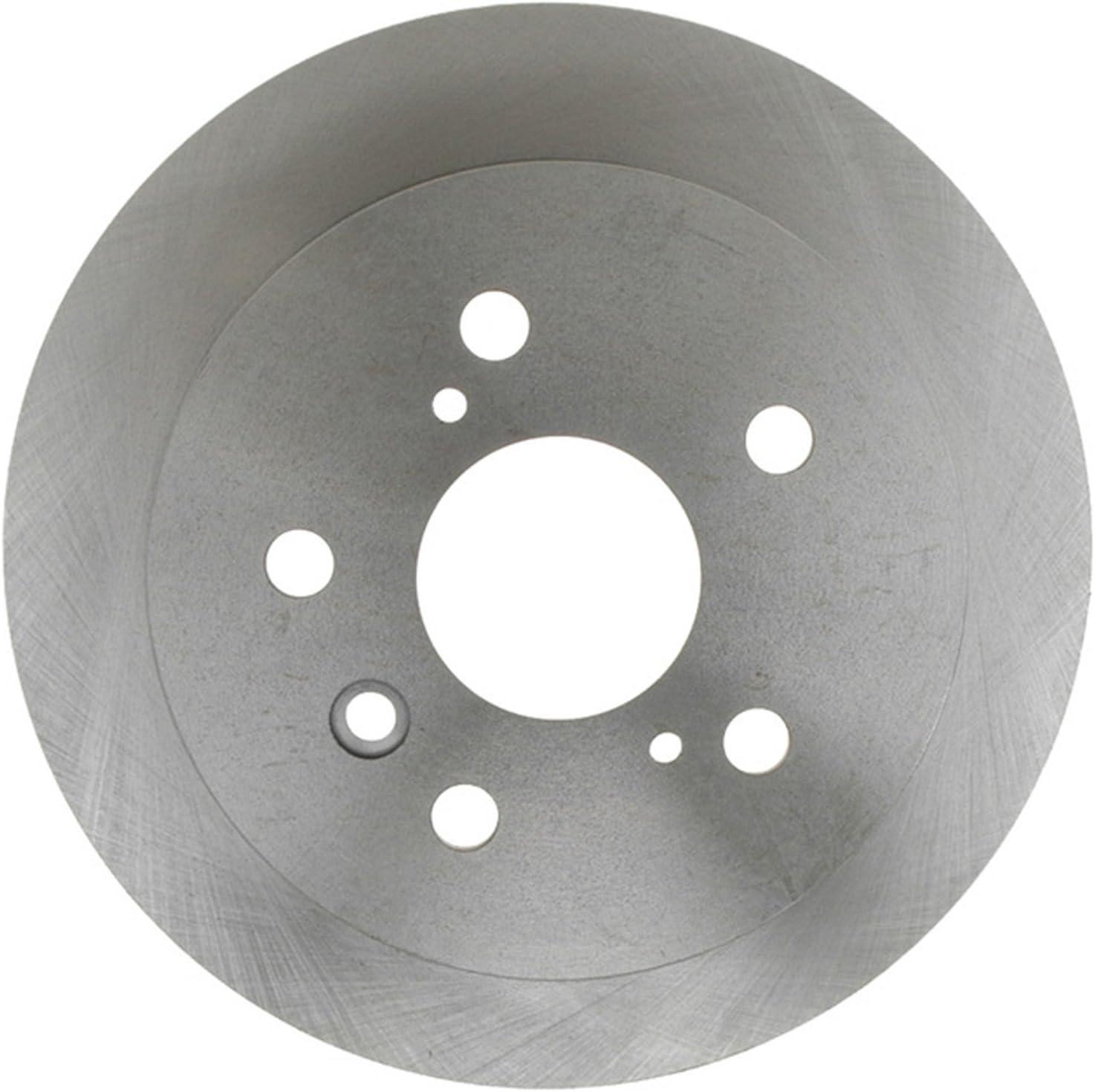 ACDelco 18A1604A Advantage Non-Coated Rear Disc Brake Rotor