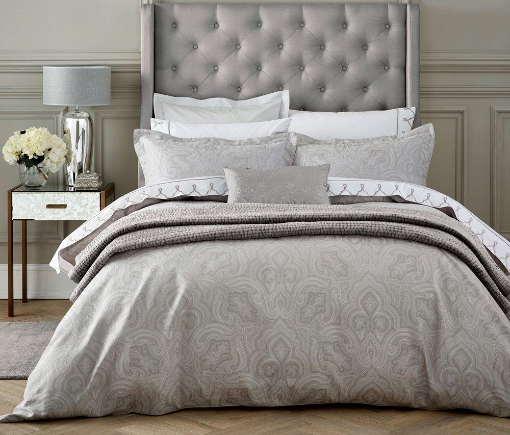 Cotton Fable Kendari Duvet Cover Super-King Grey