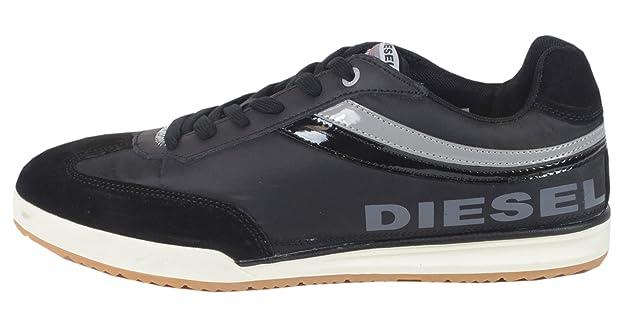 Diesel - Zapatilla Baja Hombre, Color Negro, Talla 40: Amazon.es: Zapatos y complementos