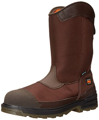 70b9f326058 Timberland PRO Men's Mortar Pull-On CSA Composite-Toe Waterproof Work and  Hunt Boot