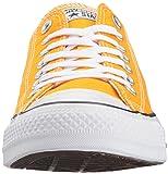 b0f196a9c11 Converse Chuck Taylor All Star Seasonal Canvas Low Top Sneaker Orange ray  7.5 US Men 9.5 US Women