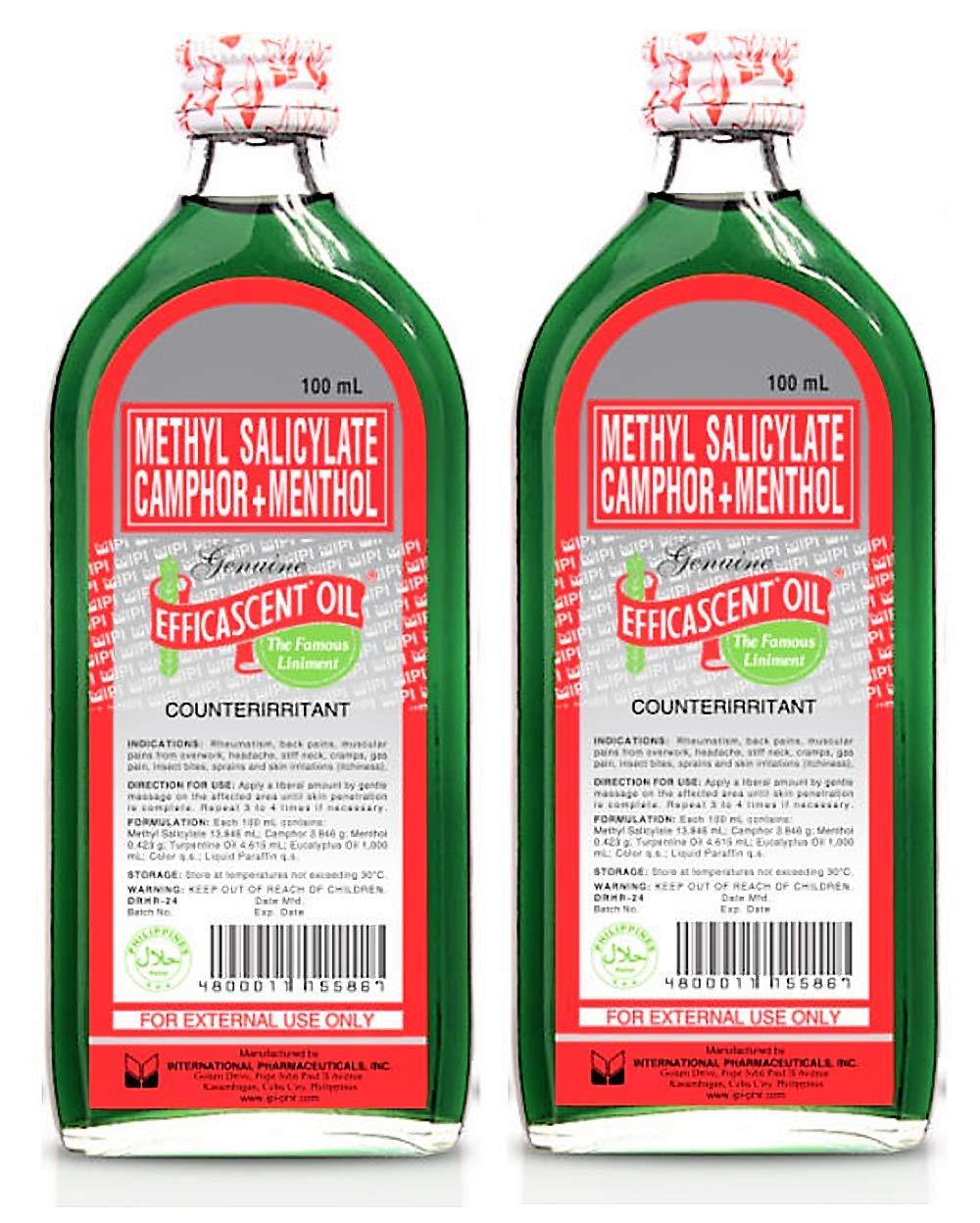 Efficascent Oil 100ml, 2 Bottles