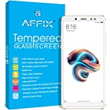 TRIANGLE Affix Display Tempered Glass Screen Protector with Cleaning and Application Kit for Xiaomi Redmi Note 5 Pro 5. 99-inch (Transparent)