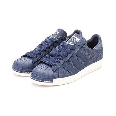 sale retailer efbfb c5f2b Adidas - Superstar 80S W - CG5932 - Color: Navy Blue - Size ...
