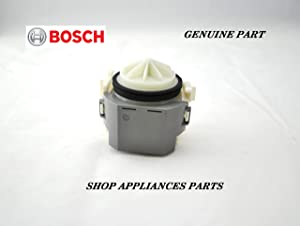 Bosch 00631200 Dishwasher Drain Pump Genuine Original Equipment Manufacturer (OEM) Part