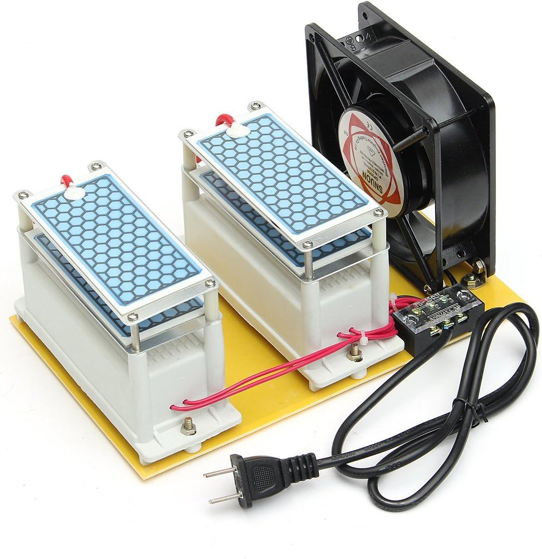 AC 220 V 20 g Generador de Ozono + ventilador máquina de ...