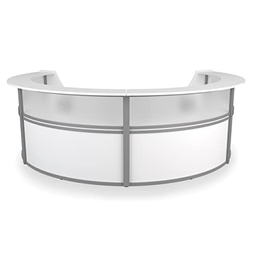 OFM Core Collection Marque Series Single Unit Curved Reception Station