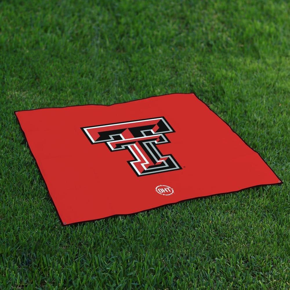 テキサスTechレッドRaidersテールゲートBlanket操作Hat Trick Oht Legacy B072F6216S