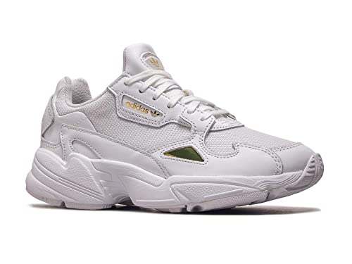 cheap for discount e59e4 4c7af adidas Falcon BiancoOro EE8838 Sneakers per Donna, 36