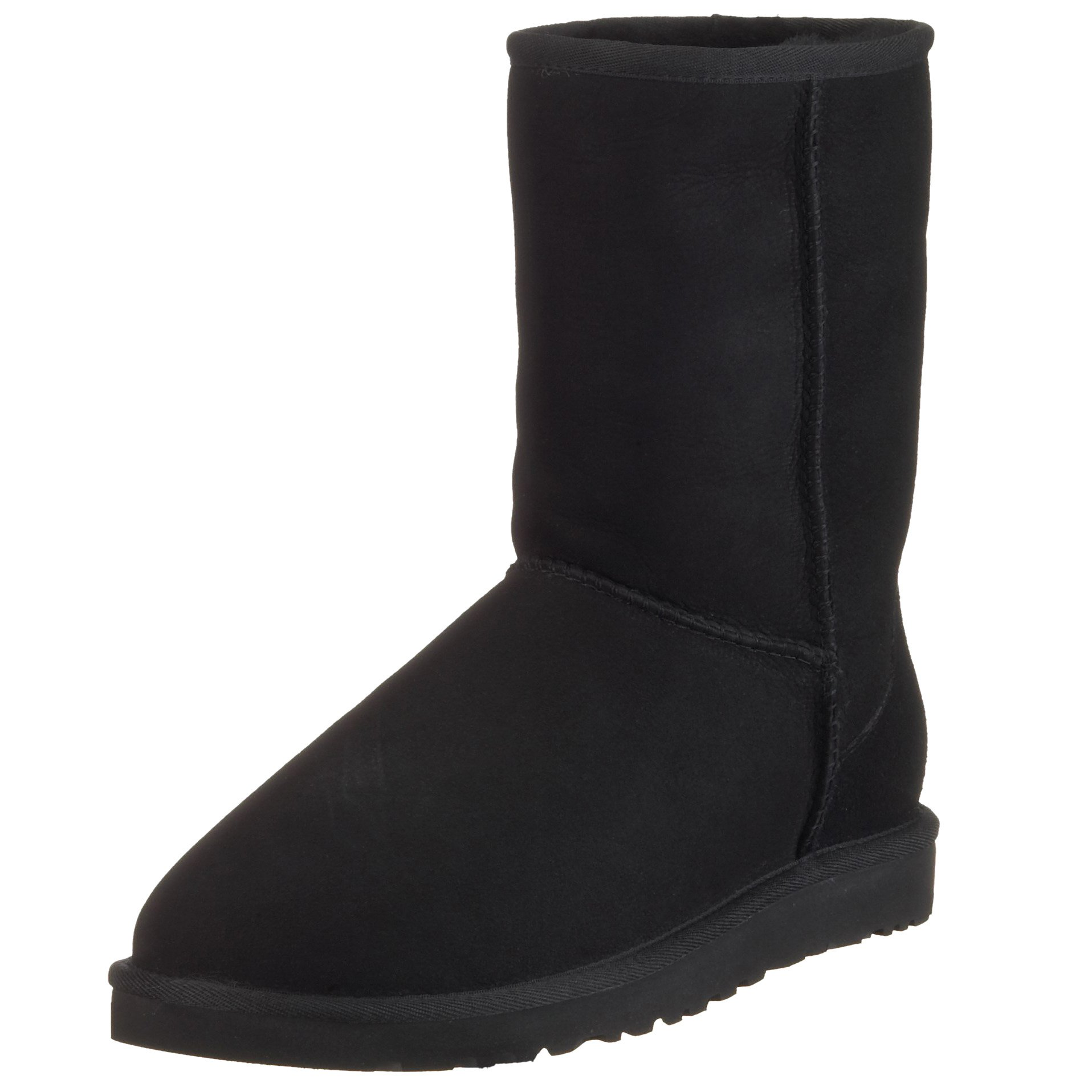 UGG Men's Classic Short Winter Boot, Black, 15 M US by UGG