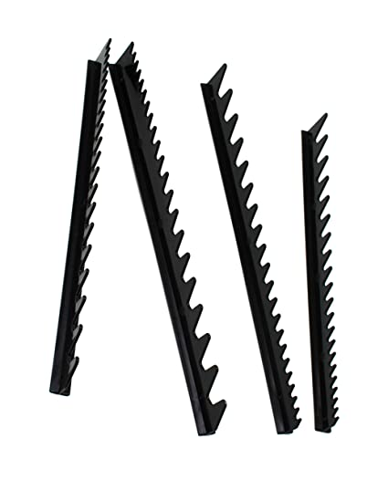 160f497c1ada JSP Wrench Rail Set Holds 40 Tools Can Be Cut Hand Tool Storage Wrench  Organizer Black