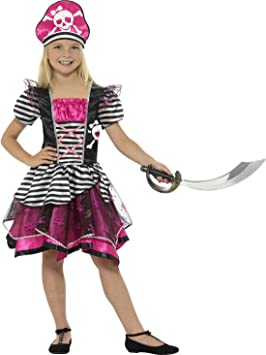 erdbeerclown Pegatina Chica Disfraz de pirata Niños pirante novia ...