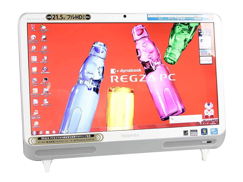 【全商品オープニング価格 特別価格】 [ Windows7 WPS B07H76W8DY Office/地デジ ] 東芝 TOSHIBA REGZA PC メモリ4GB D712/T3FWM Windows7 21.5インチ フルHD Celeron B820 1.70GHz メモリ4GB HDD1TB [ DVDマルチ/無線LAN ] B07H76W8DY, 【1着でも送料無料】:689ab1db --- arbimovel.dominiotemporario.com