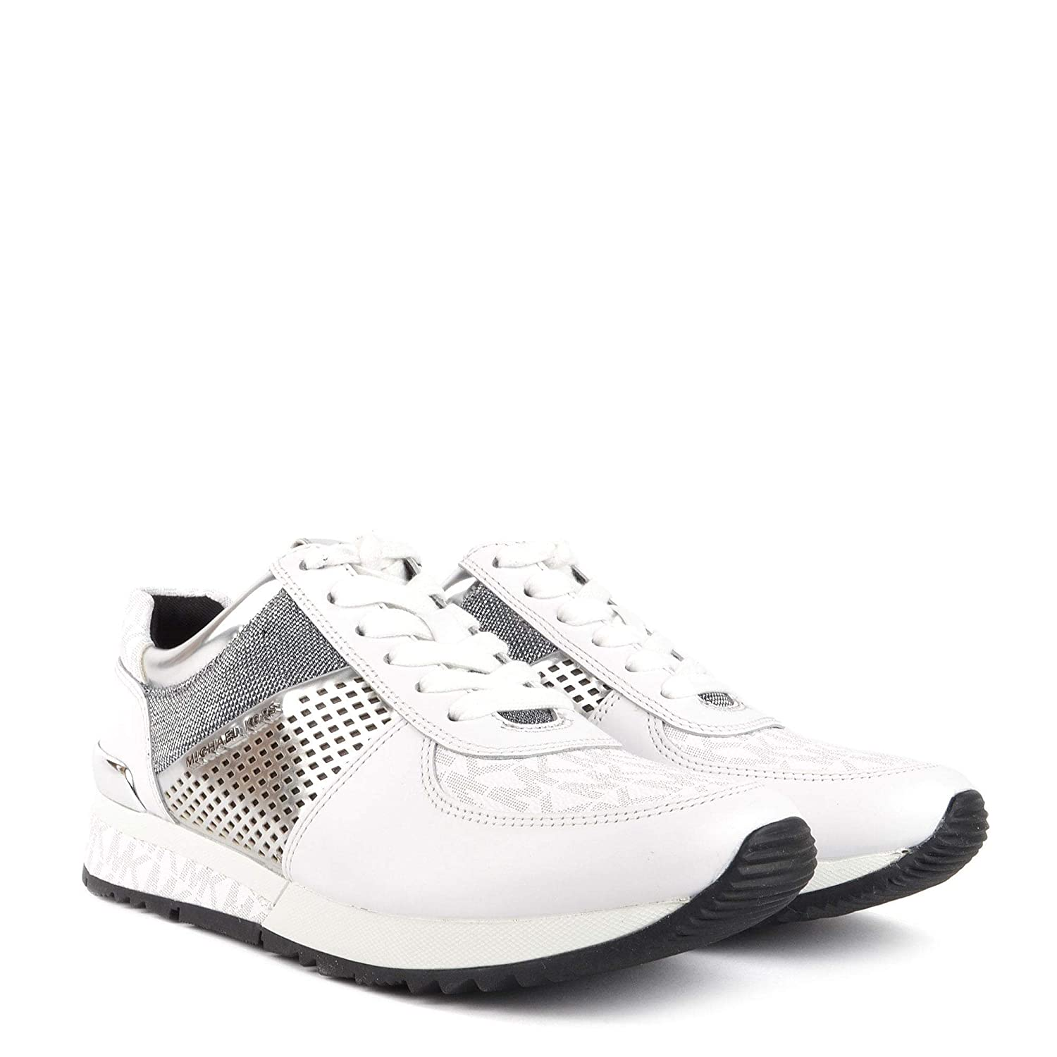 Michael Kors Mkors Allie Wrap Trainer, Zapatillas para Mujer: Amazon.es: Zapatos y complementos