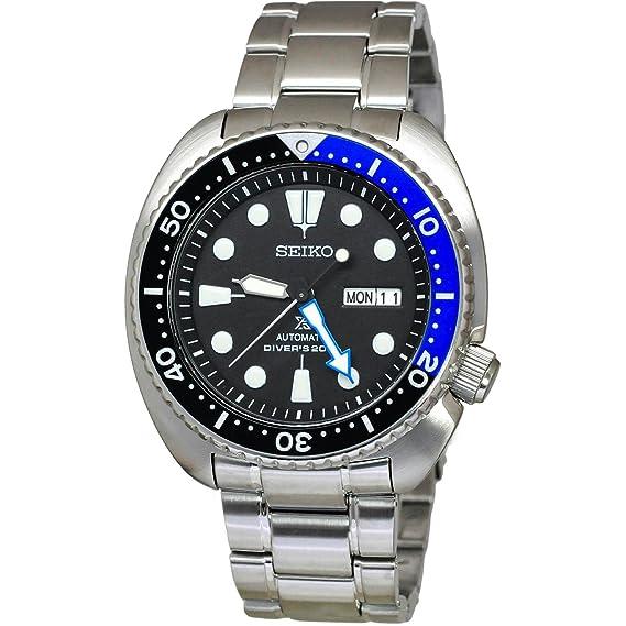 Seiko Reloj Analógico para Hombre de Automático con Correa en Acero Inoxidable SRP787K1: Amazon.es: Relojes