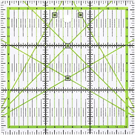 Regla de costura de patchwork, reglas de tela de corte ...