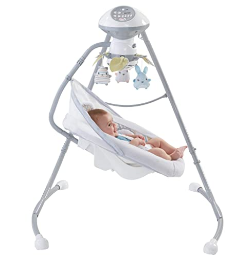 Fisher-Price-Sweet-Snugapuppy-Dreams-Cradle'n-Swing