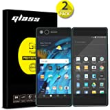 [2-Pack]ZTE Axon M Screen Protector, Anbel Design 9H Hardness [3D Touch] [Case Friendly]Ultra-Clear Tempered Glass for ZTE Axon M