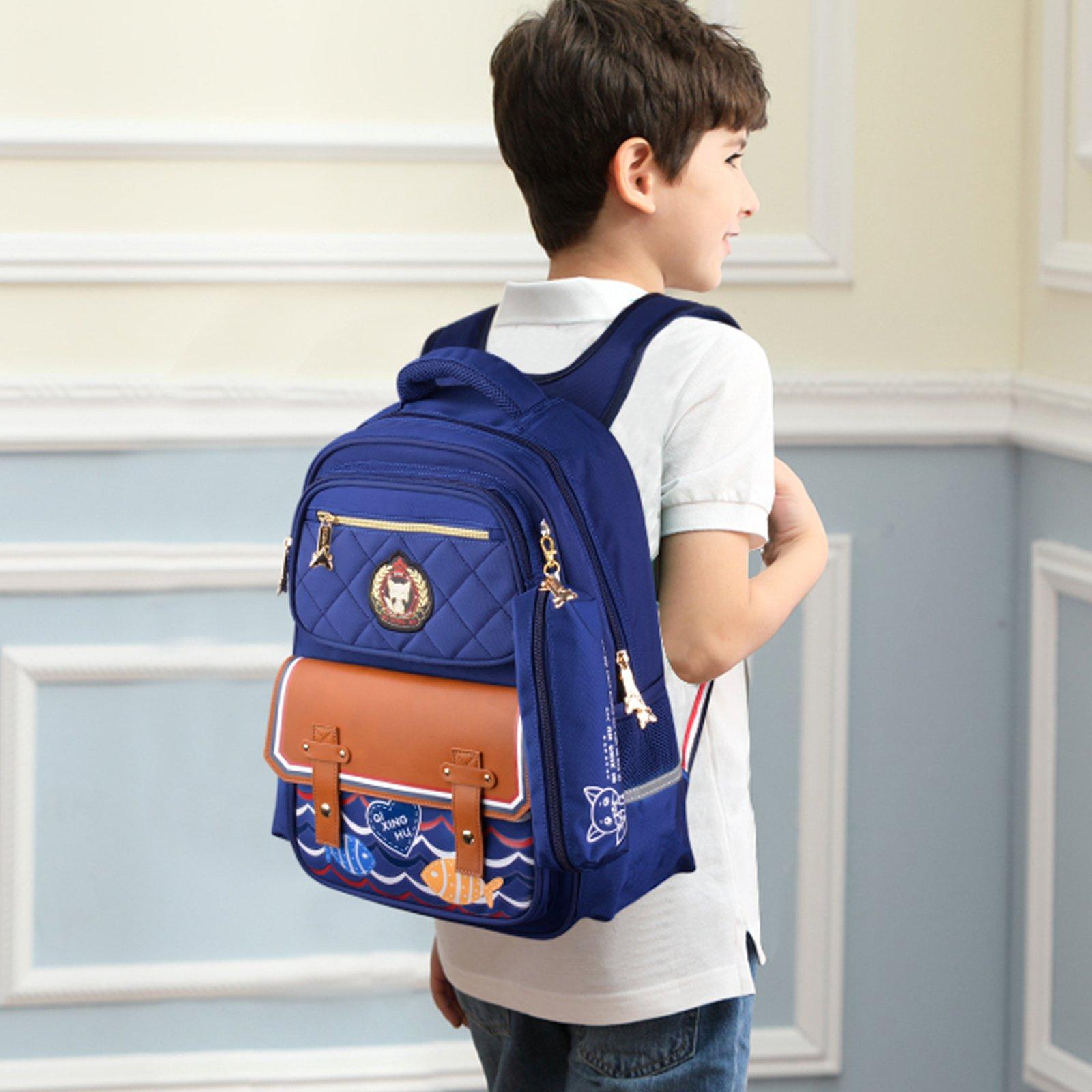 Boys Backpacks, Bageek Backpacks for School Backpack Kid School Bags for Boys Childrens Backpack by Bageek (Image #2)