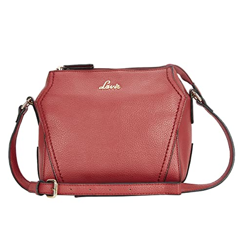 16c2a572f4a Lavie Luba Women's Sling Bag (Dk.Red): Amazon.in: Shoes & Handbags