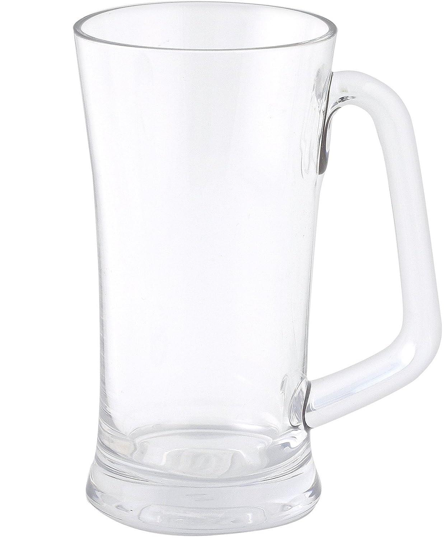 Jet 403503 vidrio de cerveza de policarbonato irrompible