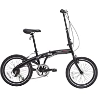 "ORKAN Aomais 20"" Folding Commuter Bike 6 Speed Bicycle Shimano Derailleur"