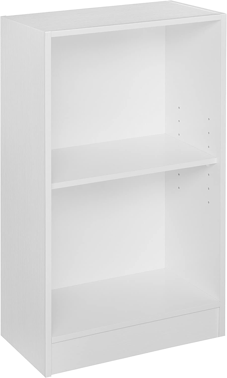 "Niche Mod Compact Bookcase with No- with No-Tools Assembly, 16""W x 29""H, White"