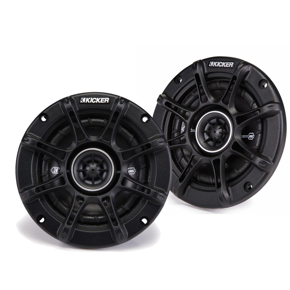Kicker 41DSC44 4'' 2-Way Speaker Pair