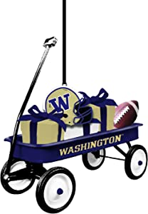 Team Sports America University of Washington Team Wagon Ornament