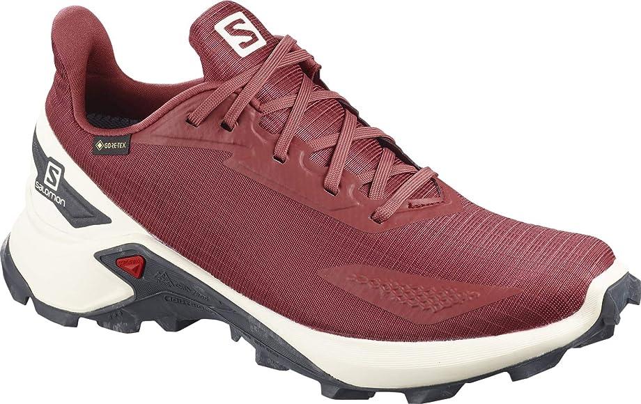 Salomon ALPHACROSS Blast GTX W, Zapatillas de Trail Running para Mujer, Rojo (Apple Butter/Vanilla Ice/Ebony), 36 EU: Amazon.es: Zapatos y complementos