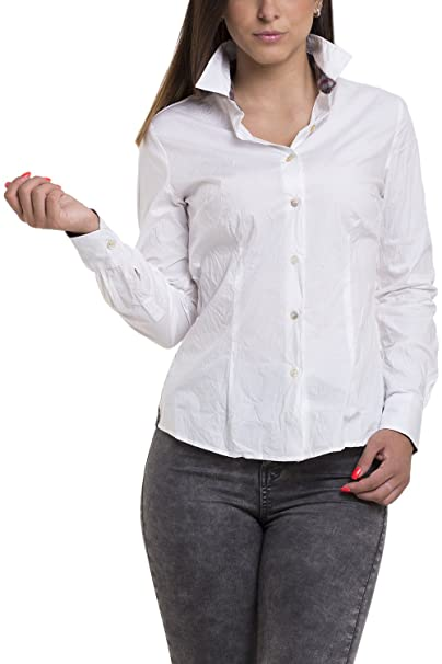 Atelier Boldetti - Camisas - para mujer multicolor White/Plaid Blue/Beige/Red