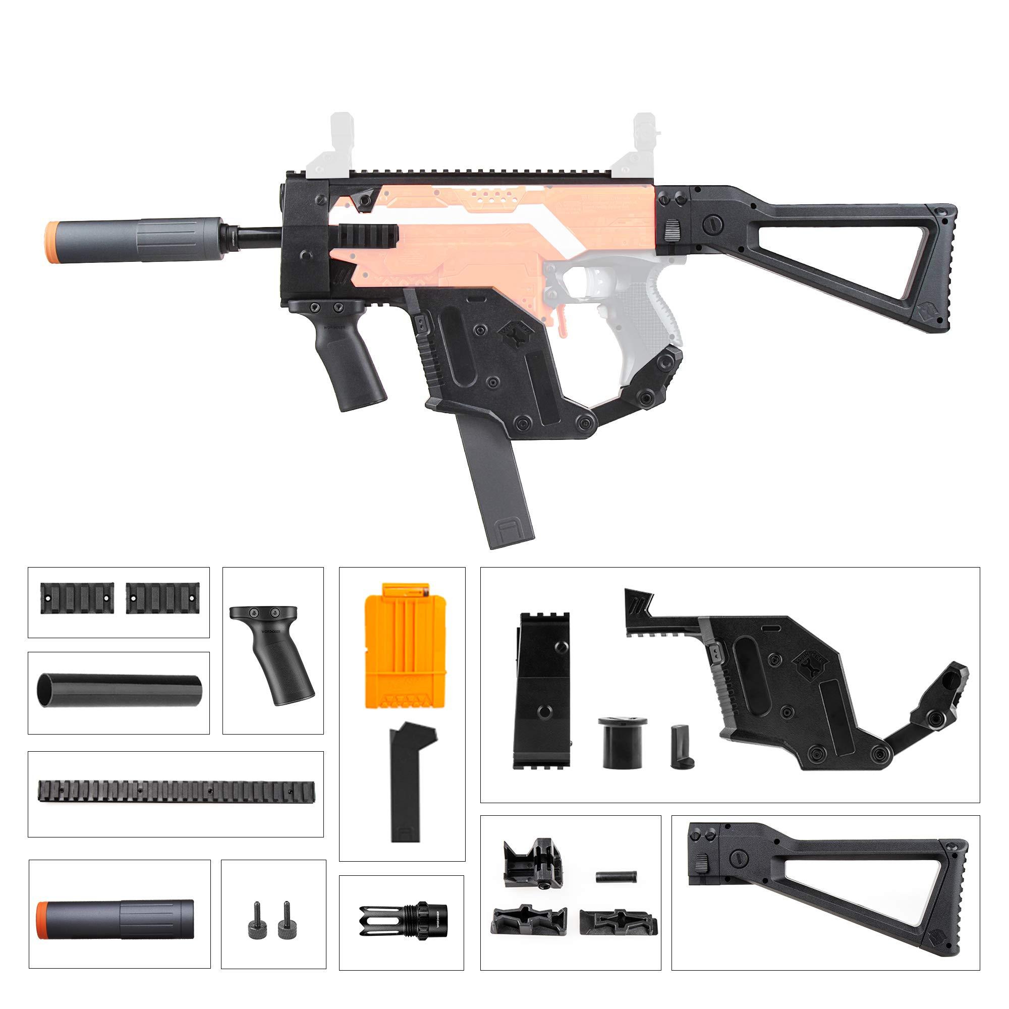 JGCWorker Mod Kit Set for Nerf Stryf (STF-W004-6)