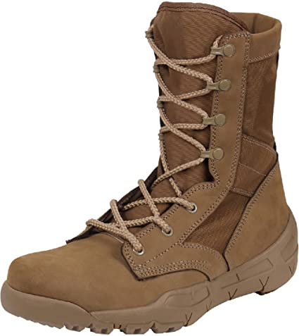 Maelstrom Mil Lite Mens 9 Coyote Brown Military Boot AR 670-1 Compliant